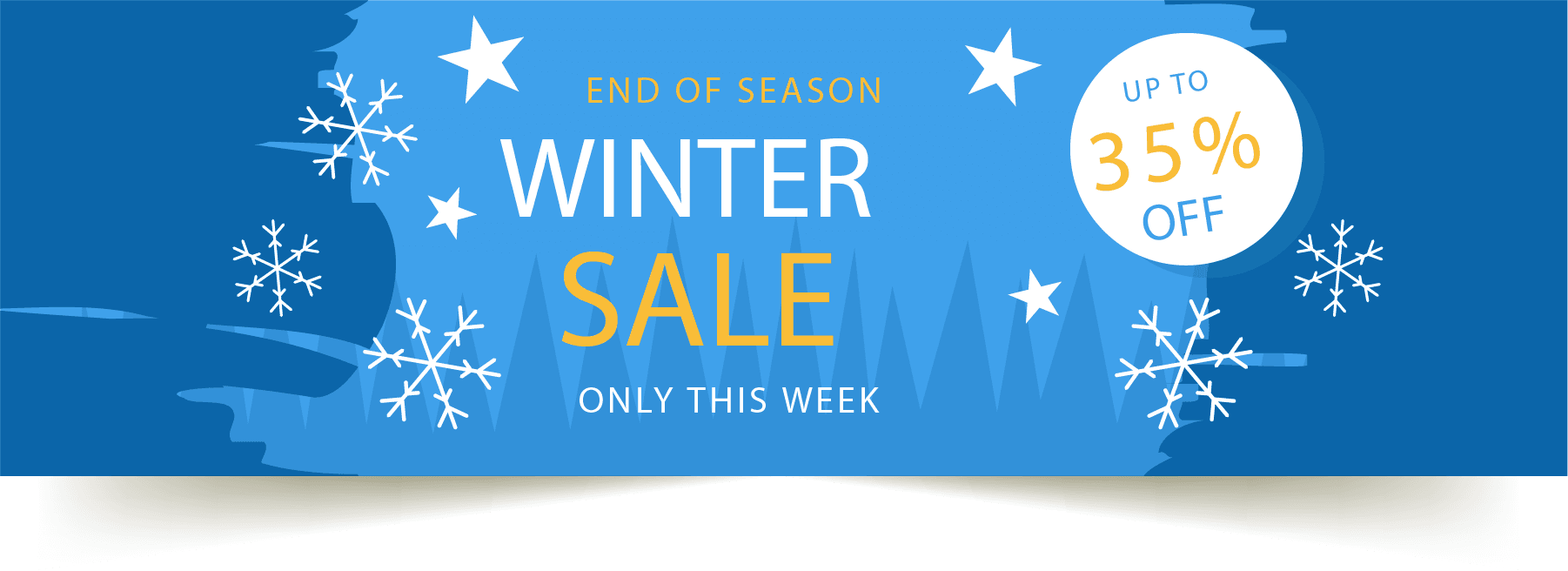 winter sale 35% off