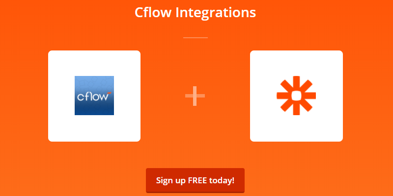 integrate cflow & zapier
