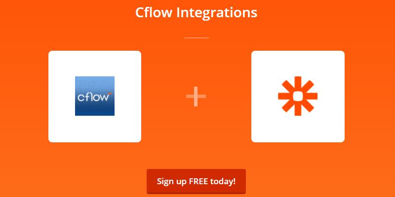 integrate cflow & zapier