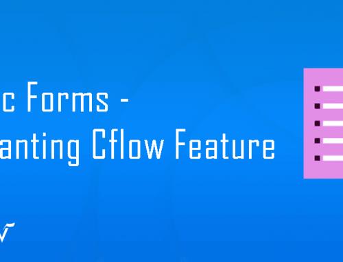 Public Form – Enchanting Cflow Feature