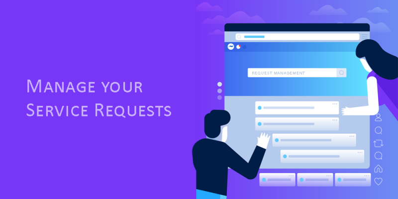 automate service request management system