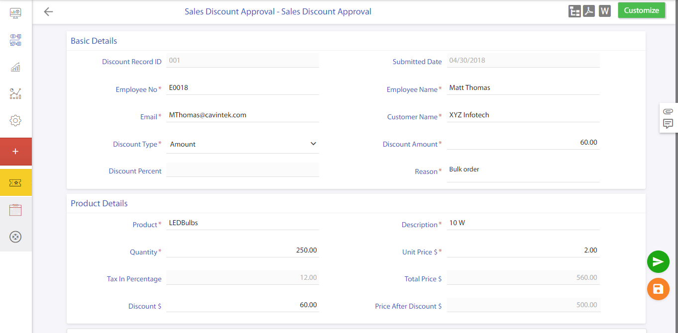 sales approval process workflow automation