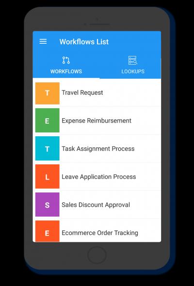 Cflow mobile app