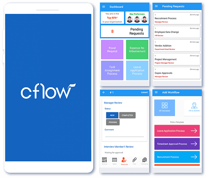 Workflow app features