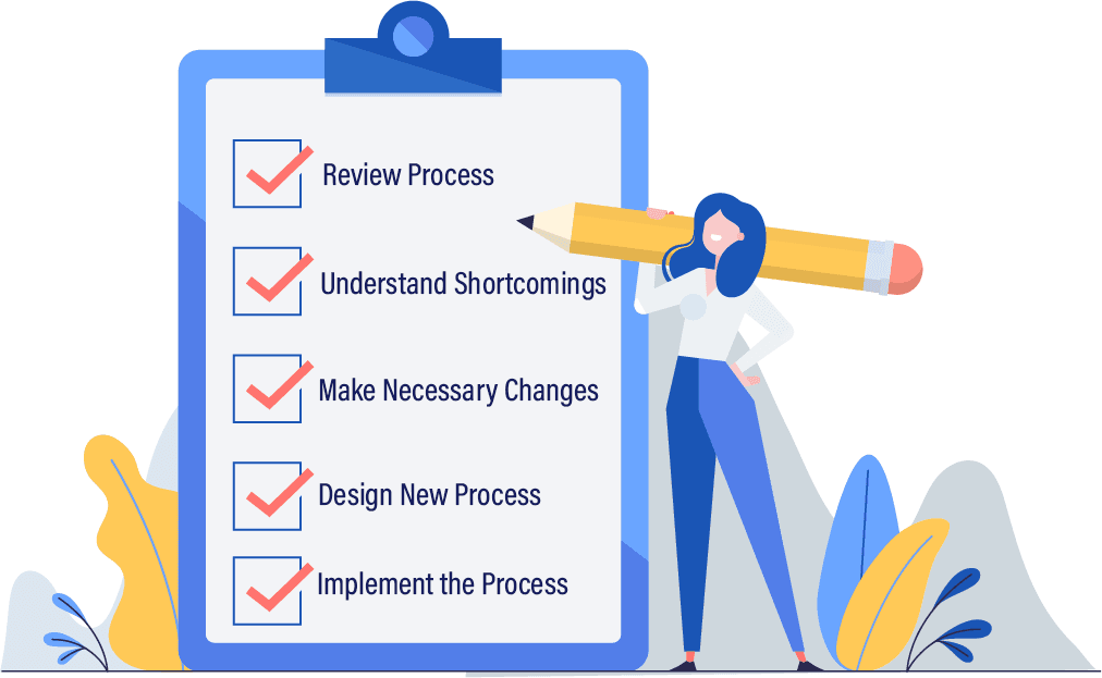 top 5 checklist for process improvement