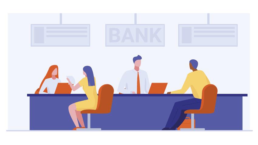 banking process workflows